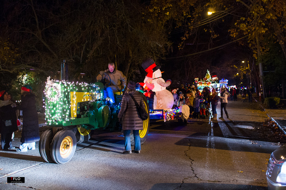 Calistoga Lighted Tractor Parade 2013